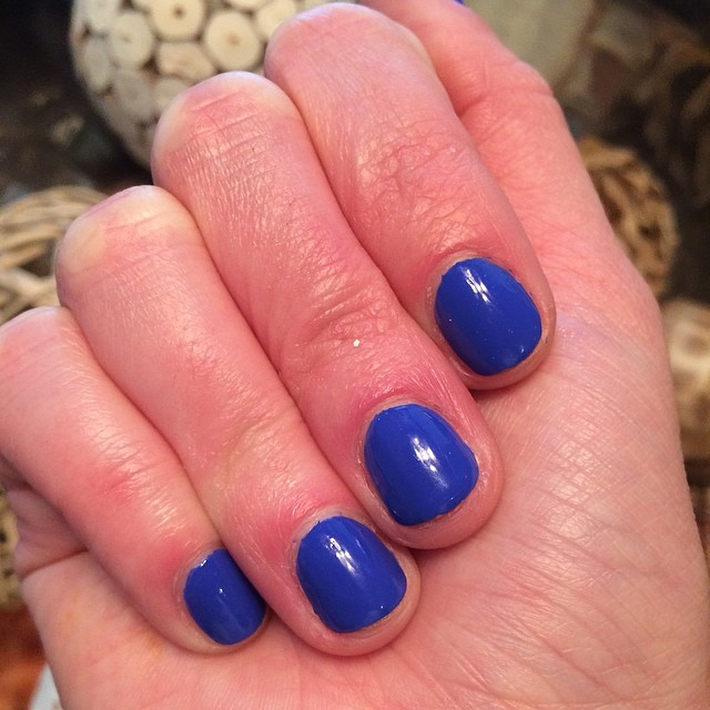 "China Glaze ""I Sea the Point"" #nails #manicure #coloroftheweek"
