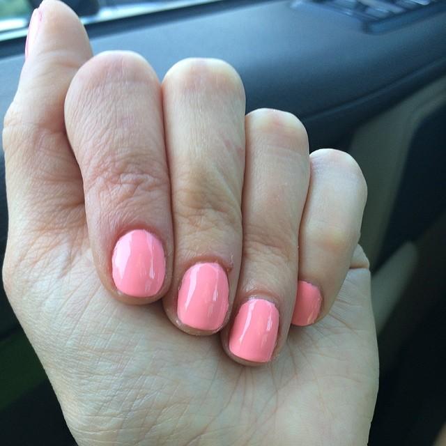 "China Glaze ""Feel the Breeze."" #nails #manicure #coloroftheweek"