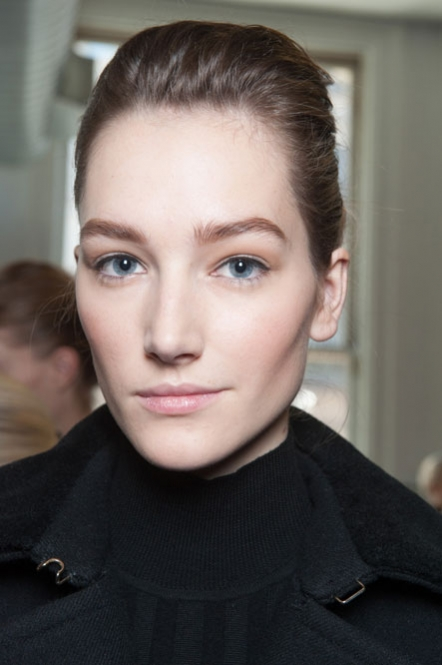 It was all about the brows at Jason Wu, with a little help from Lancome's Le Crayon Poudre and Modele Sourcils Brow Groomer.