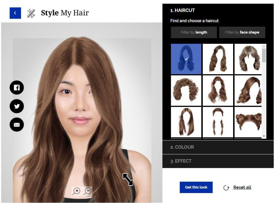 Try on a new haircut or color with this app — InsiderBeautyBuzz