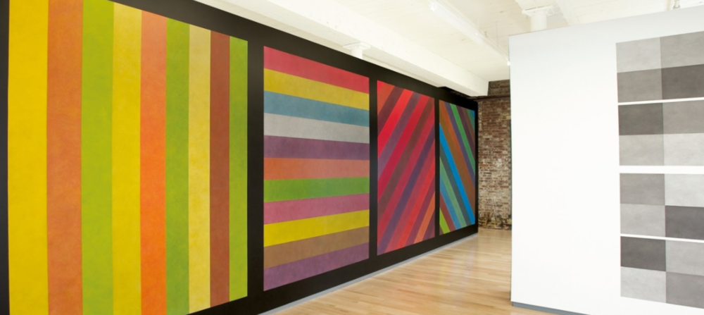 The Sol LeWitt Retrospective at Mass MoCA. Photo cred: Mass MoCa