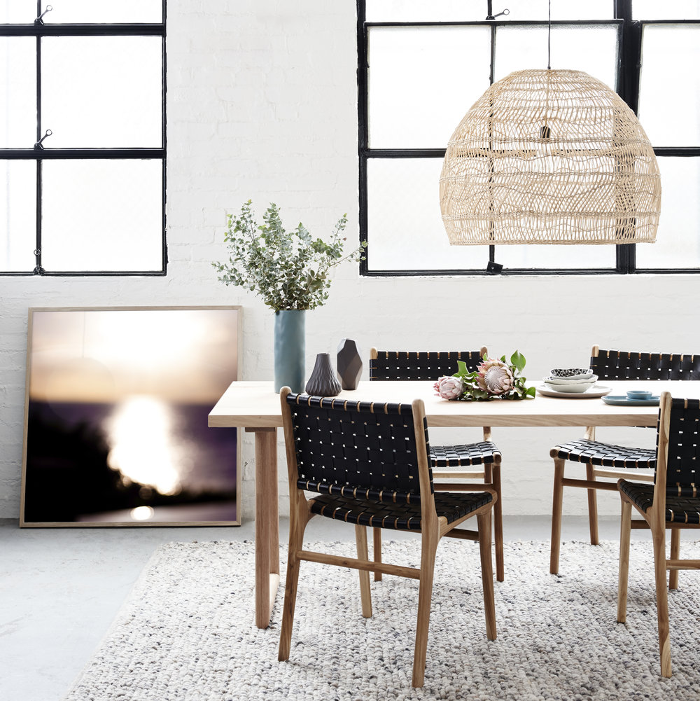 Lucia Engstrom C-print with Barnaby chairs