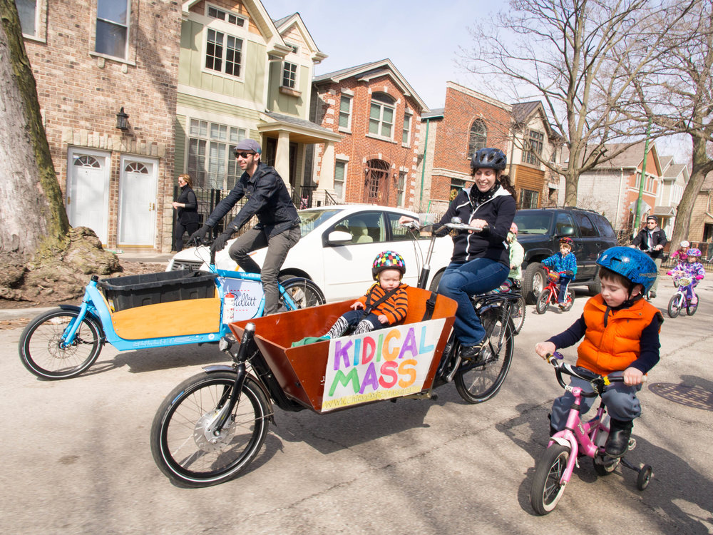 Kidical mass   Let's Ride!    Learn more