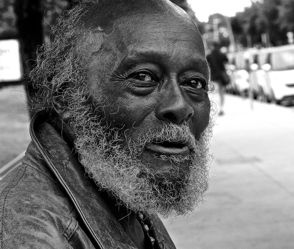 Downtown Austin portrait: Mjumbe