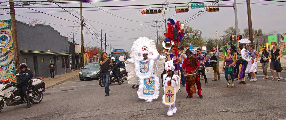 Mardi Gras Day Land of the Free March
