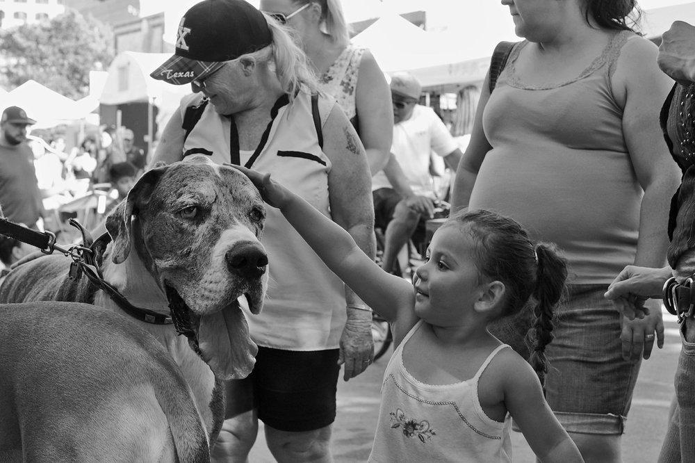 Sixth Street, Austin: Pecan Street Festival