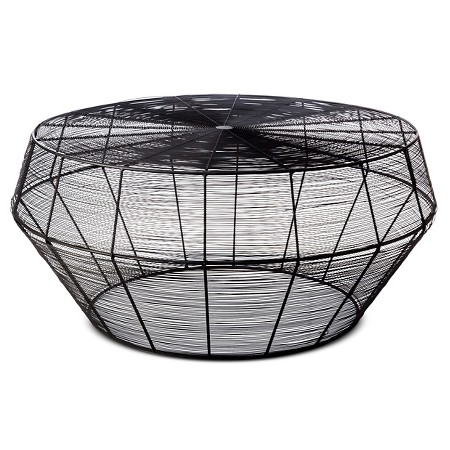 Black Wire Coffee Table — Aiden & Grace