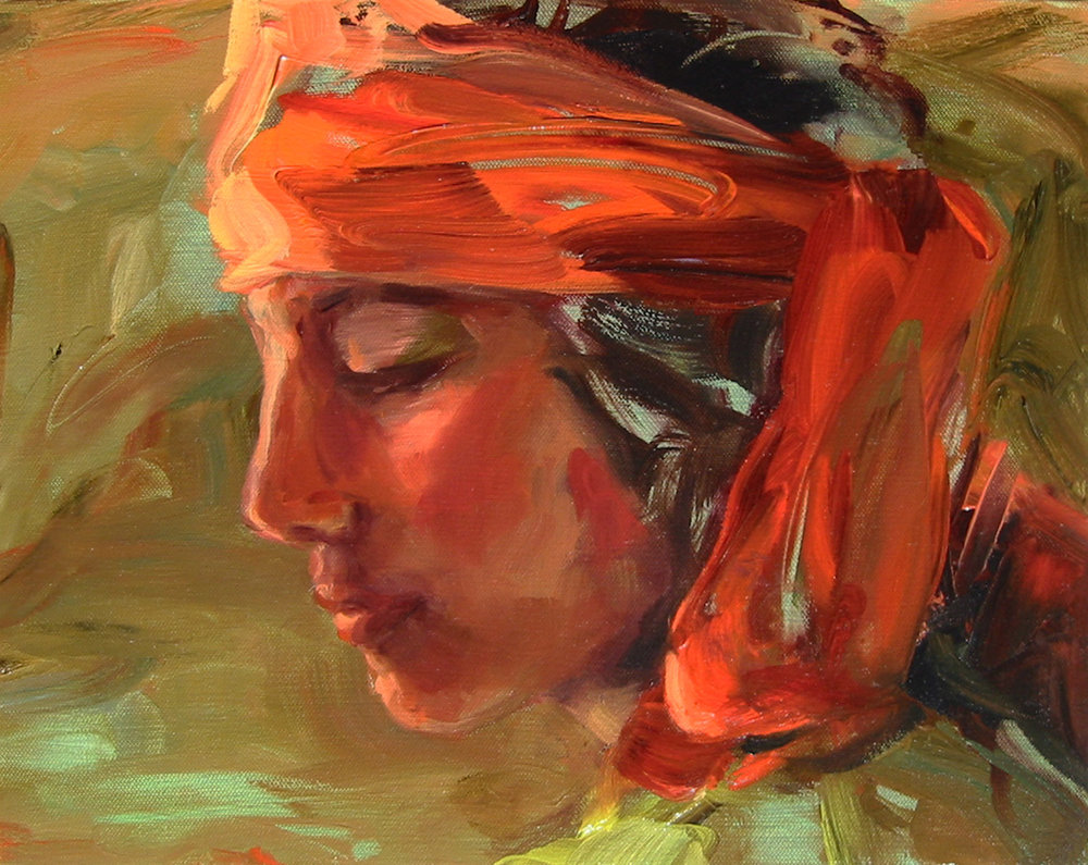 "Serene- Oil on canvas- 11"" x 14"""