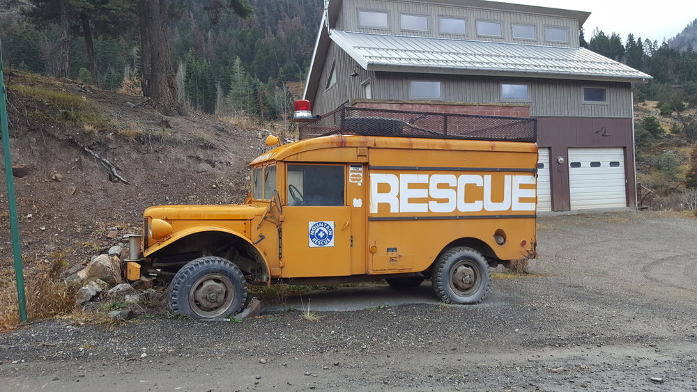 Do you have questions? We're here to help! - Sometimes you just need a little bit of help and this vintage truck was just the right tool in Ouray, Colorado.