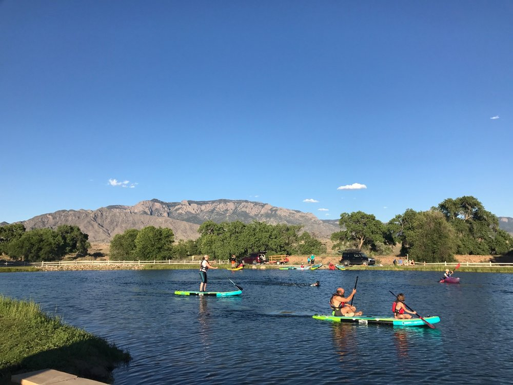 Water Time is Always Fun! - Whether you're looking for SUP Instruction or you just want to get out on a board to get wet and beat the heat, we have you covered.