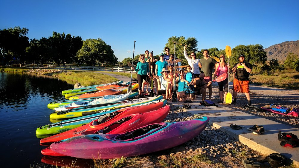 Sandia Lakes Weekly Lessons and Clinics are always a great time! Photo: Corey Spoores