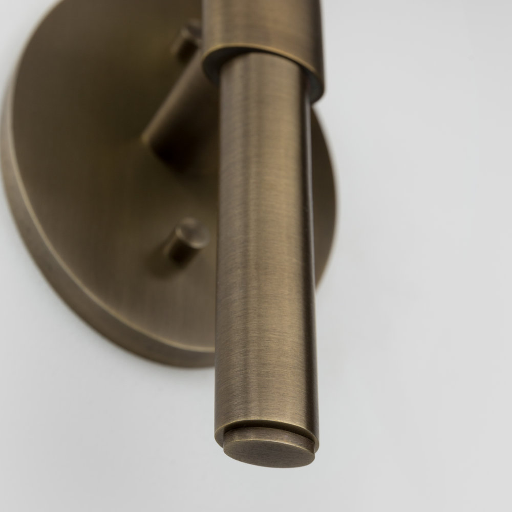 Shown in Antiqued Brass