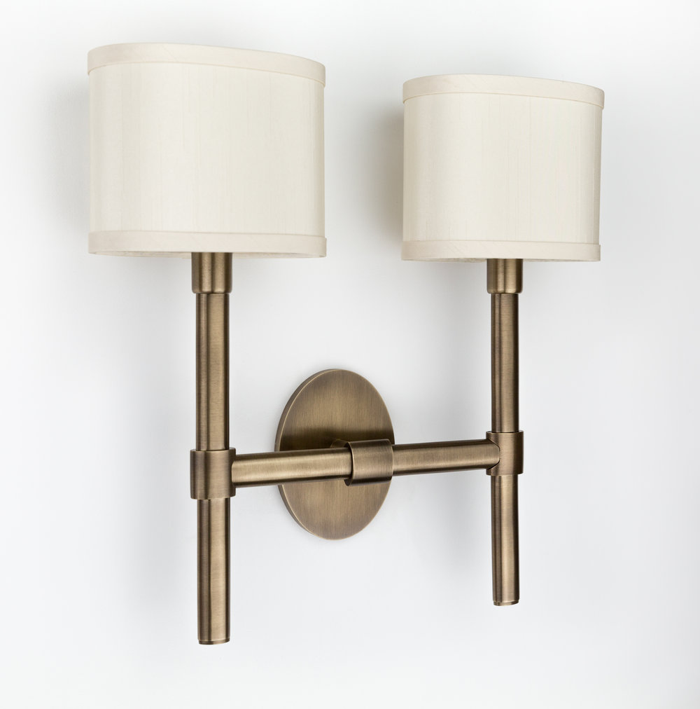OVAL sconce - double