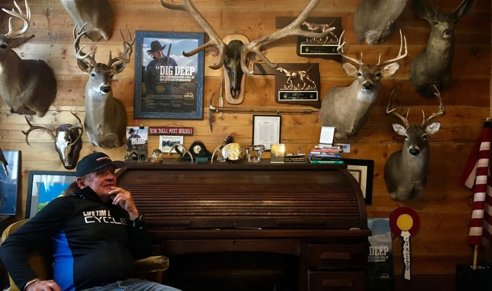 Ken Chlouber in his office in Leadville - Photo - Zoë Rom