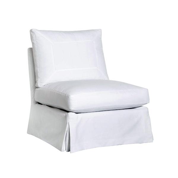 1.Seda Armless Chair
