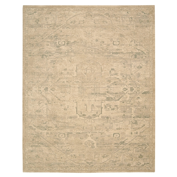 Wool Silk #14 Sand Area Rug
