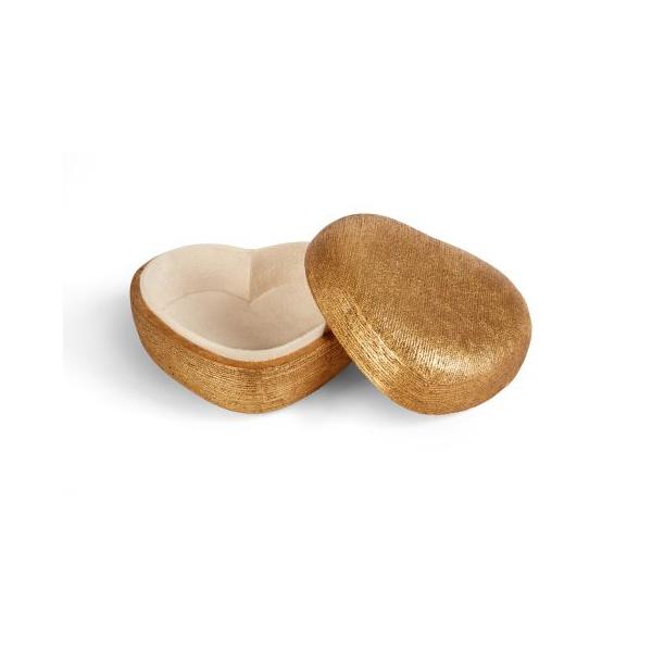Gold Heart Box