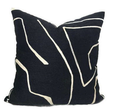 Graffito Cushion, $329