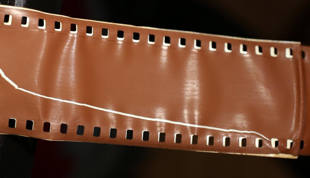 Poor film repairs