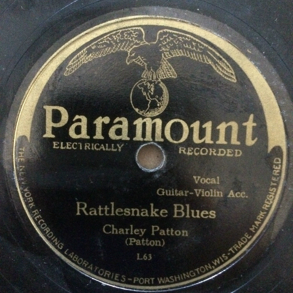 Rattlesnake Blues by Charley Patton