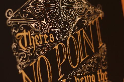 Richest Man in the Graveyard - Print