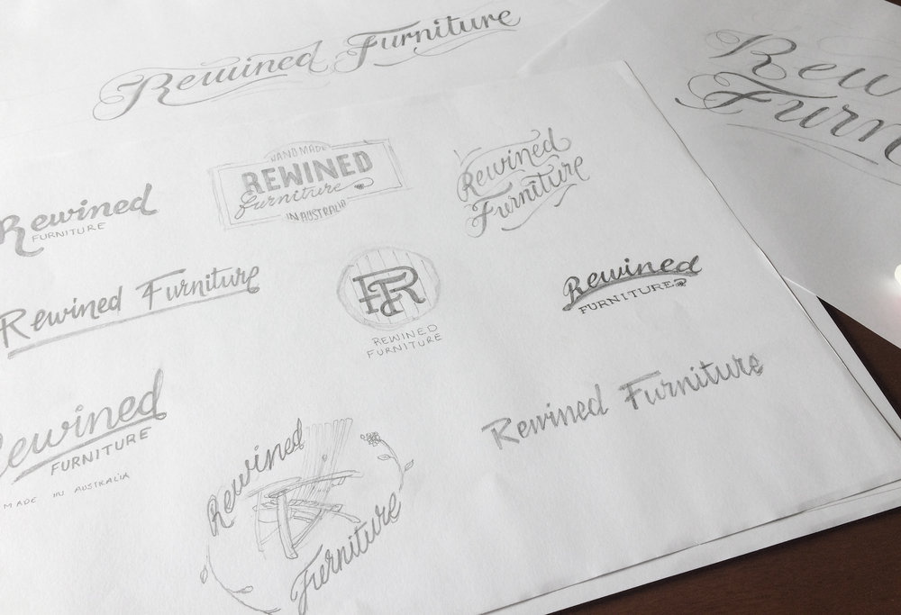 To ensure a unique and ownable brandmark the logo was designed entirely by hand before being digitised to finish and tidy.
