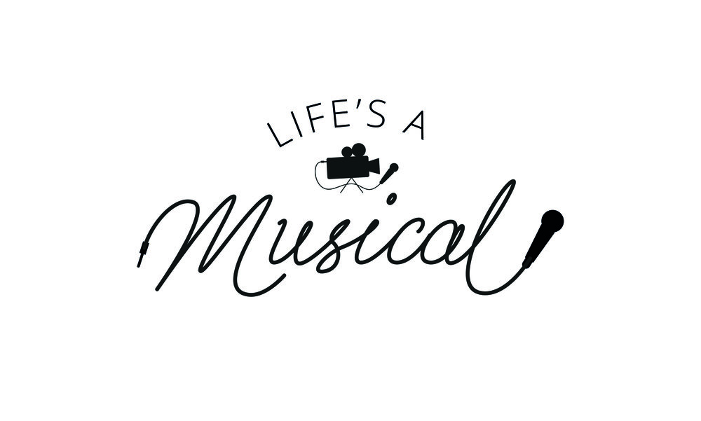 Branding Design for Life's A Musical - A music video production company focused on weddings, birthdays and corporate events. The logo is a balance of professional service and fun results.