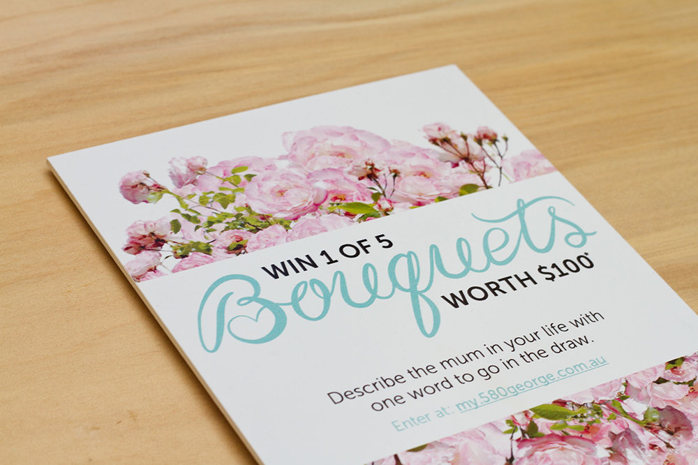 The GPT Group - Mothers Day Competition Lettering & Design