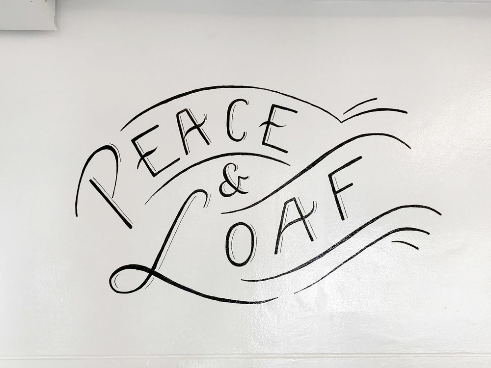 STAPLE Bakery - Custom Lettering & Mural