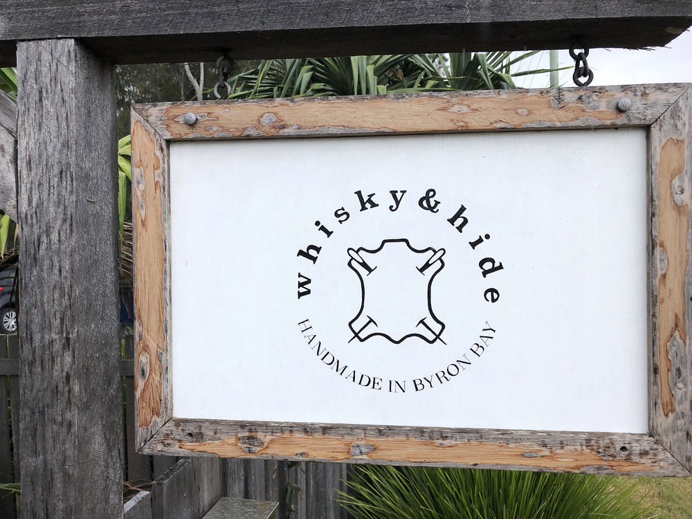 Whiskey and Hide Sign Installed.jpg
