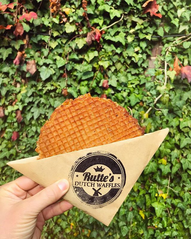 from the series: how to eat your rutties • stroopwafelaholics suggest delighting your rutties under the Californian sunshine