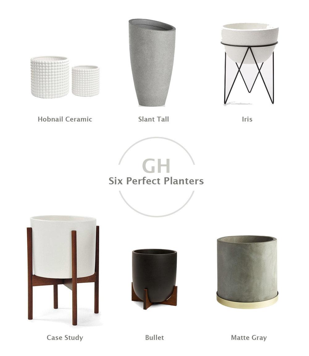 Hobnail Ceramic  //  Slant Tall //  Iris  // Case Study   //   Bullet /  /   Matte Gray