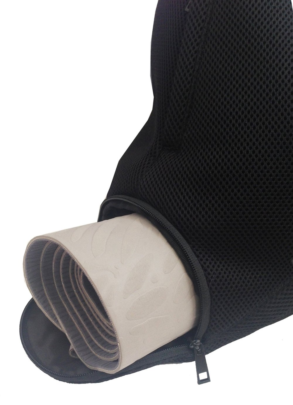 -Or yoga mat compartment