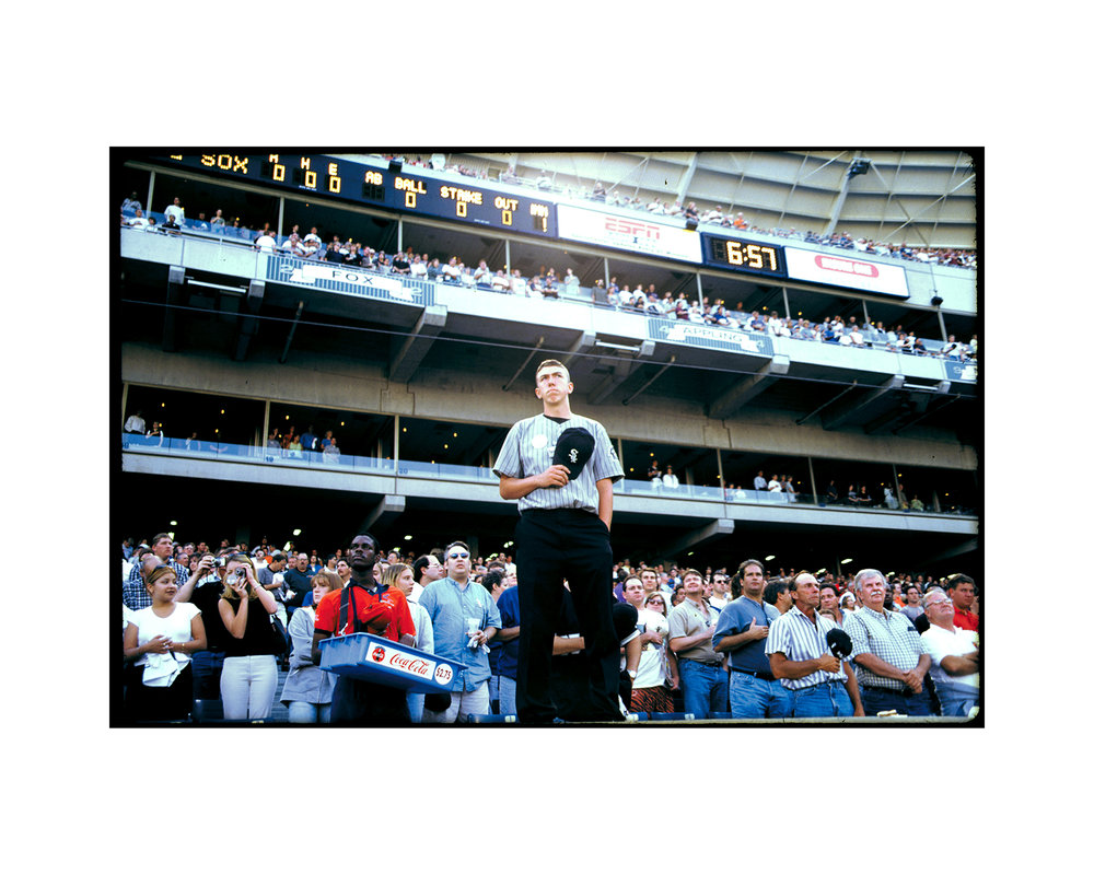 National Anthem, Chicago White Sox employee, Comiskey Park