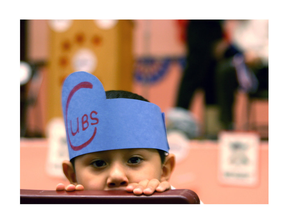 Lemoyne Elementary School student, Cubs Caravan