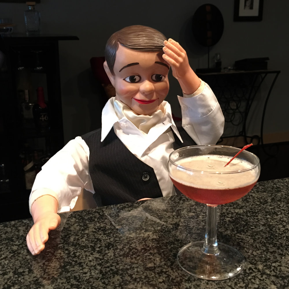 Aw dammit, they shook my Manhattan. — I.M.Bibe