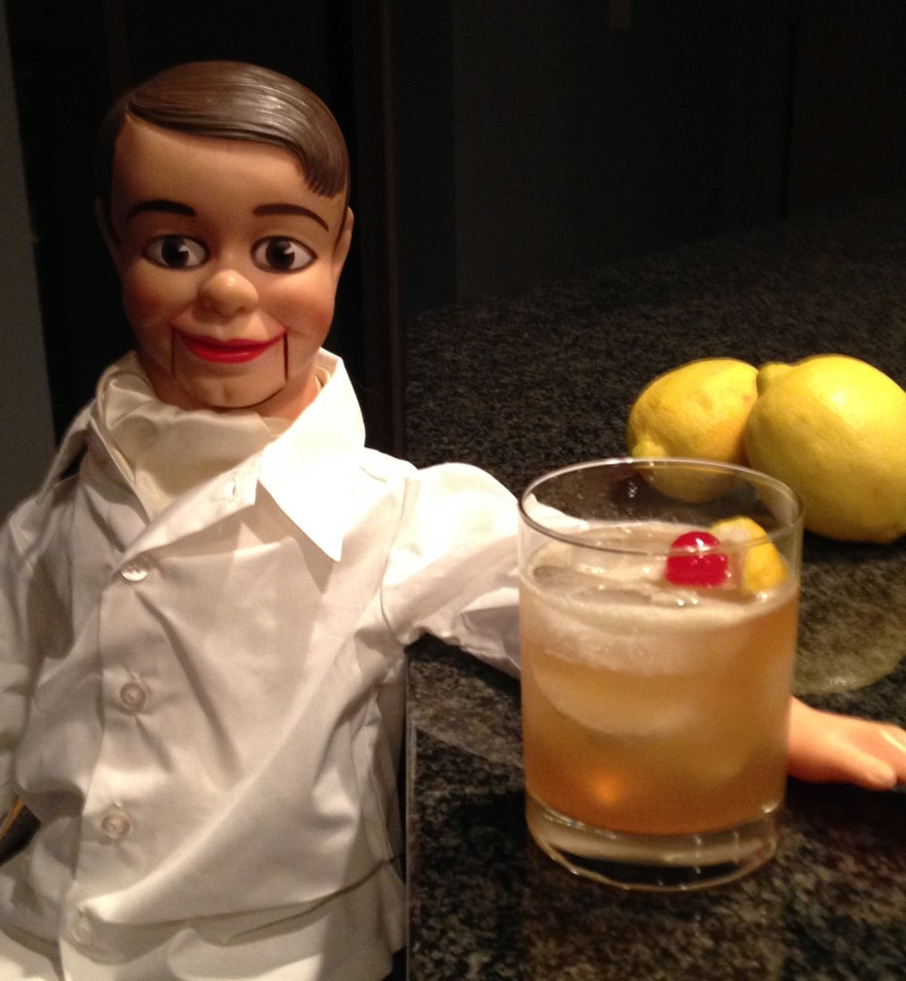 When life gives you lemons… make a whiskey sour! — I.M.Bibe