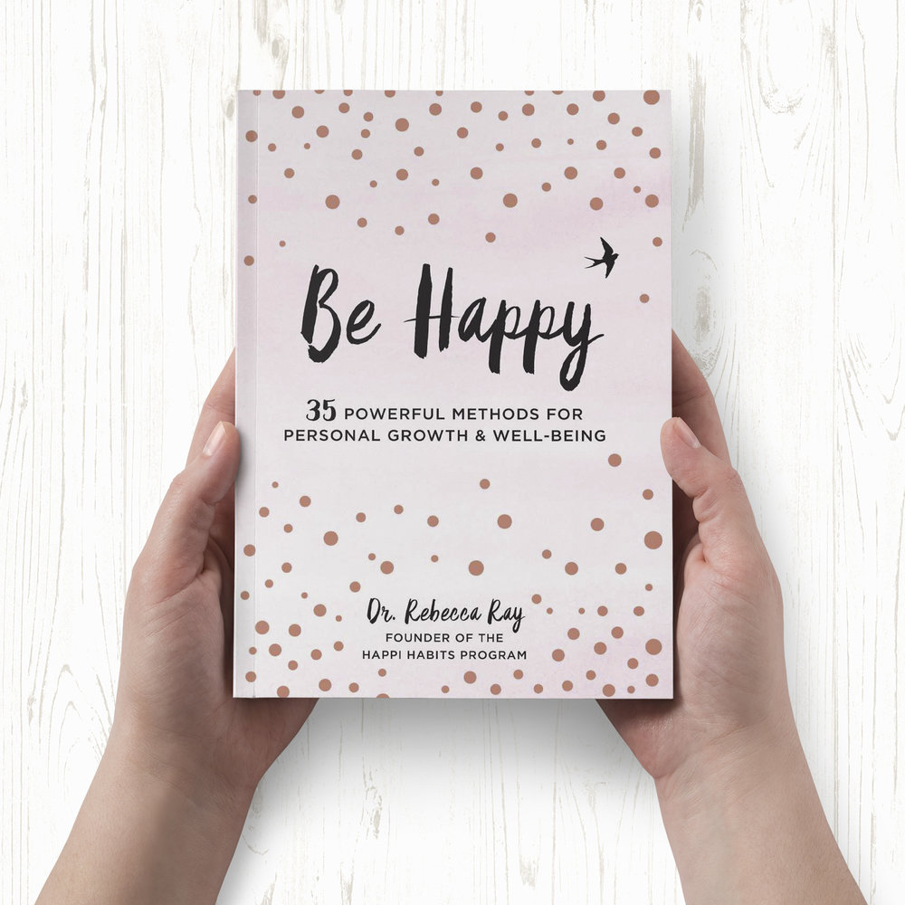 Finally it's here! - NEWS! Lovely ones, it's happened, is happening, and will happen! My first book Be Happy: 35 Powerful Habits for Personal Growth and Well-Being is out on March 6.It's a gorgeous giftbook designed to give you bite-sized tips for well-being on each page.I'm stupidly excited. If you'd like to get your hands on it, you can click here to pre-order via Amazon now.