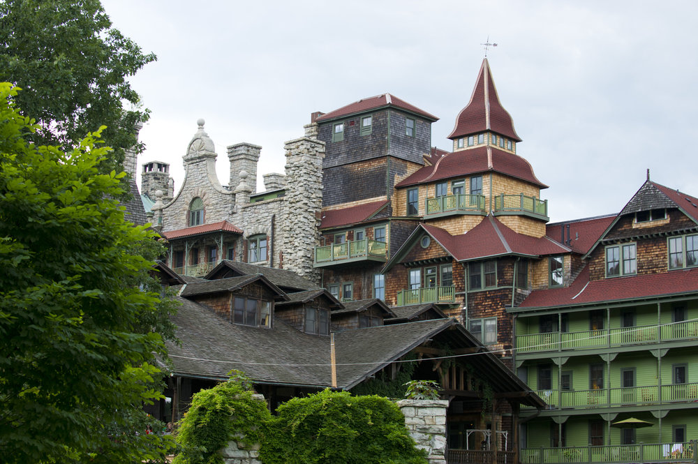 One of several Mohonk House turrets