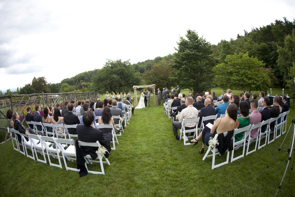 Ceremony panorama