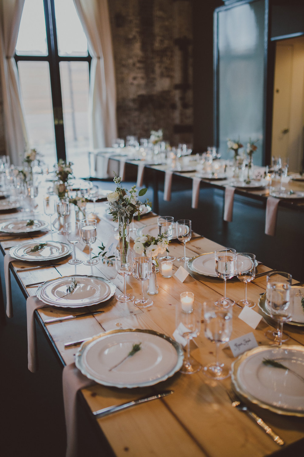 Brooklyn Wedding Tablescapes