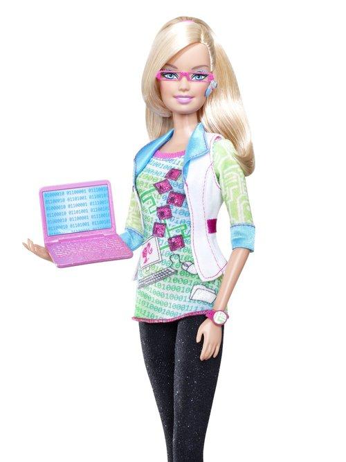 Female Tech Entrepreneur Barbie