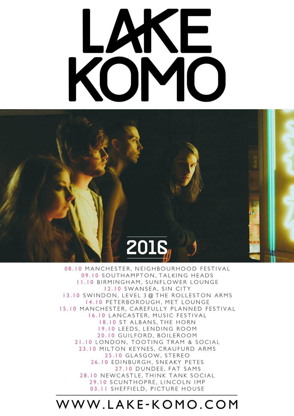 Lake Komo October '16 Tour Poster.jpg