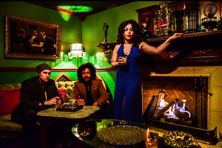 August 8th @ 8pm: The Velvet Trio  - Tuesdays at 8pm, we welcome the smooth, sultry sounds of the The Velvet Trio -  This absolutely breathtaking collaboration by Janetza Miranda, Daniel James Flynn and Randy Haze will move your soul with a mashup of your favorite classics, funk and love songs.