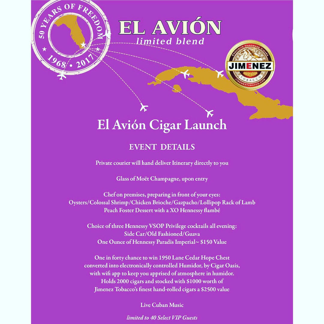 RSVP For Private Event — Best hand rolled cigars in NJ