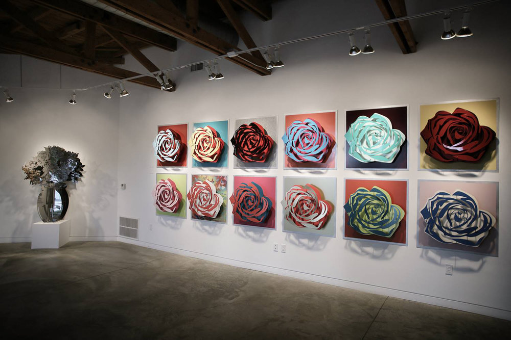 FP Contemporary Gallery Opening   Roses Edition Suite  Edition of 35 (Each)