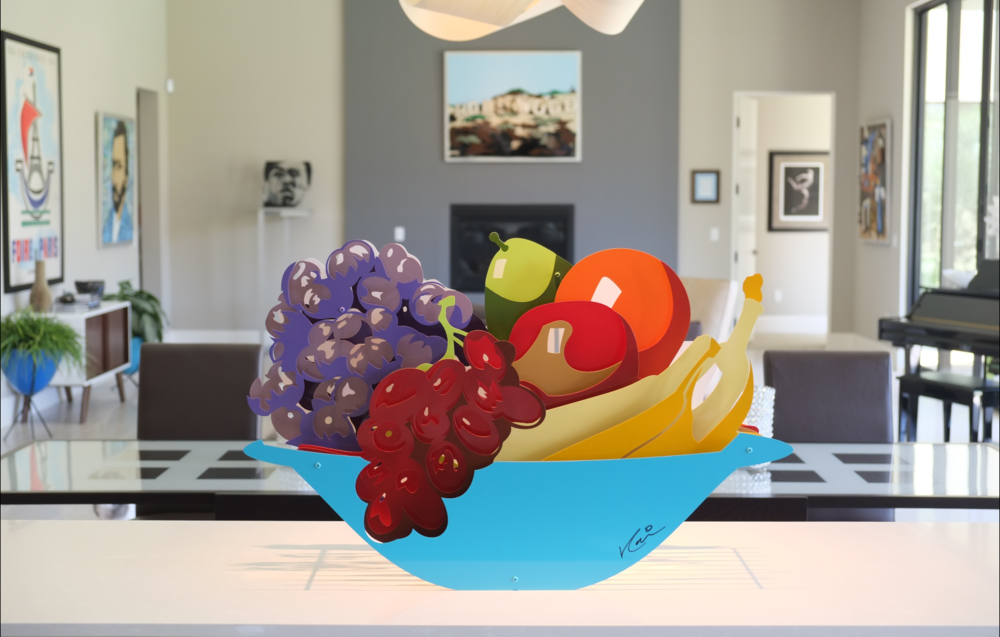 Fruit Bowl  20 x 31""
