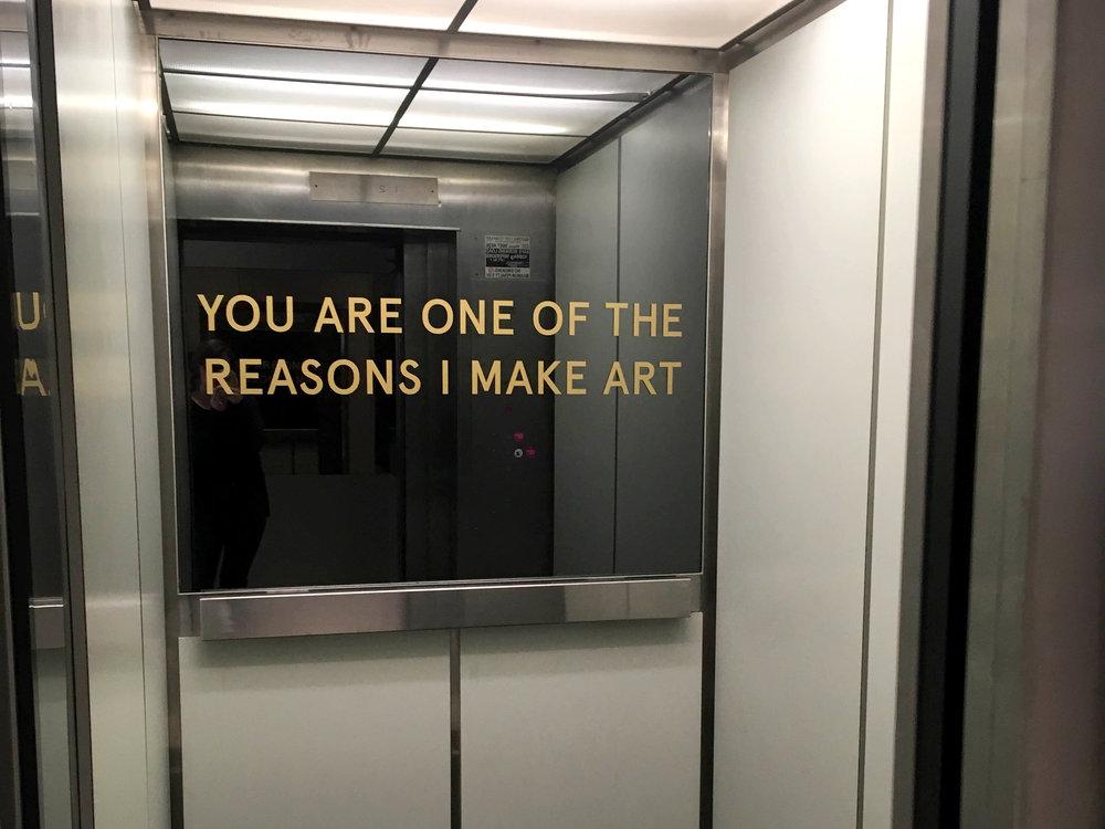 Parramatta Artist Studios Elevator