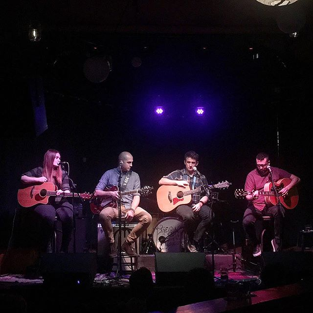 Last night's Songwriters Circle at The Firefly Lounge was incredible! It was a pleasure to share the stage with these talented and hilarious folks and to hear their stories and process for songwriting. Big thanks to @alexashleyofficial for putting it all together and making this thing happen, and thanks to @thefireflybham for hosting us with the space. And thanks most of all to all of you who came out and supported us, without people to listen to the music we create there is no show. 🙏🏼 • • • • • #music #performer #guitar #guitarist #singer #pnwmusic #livemusic #acoustic #vocals #talentedmusicians #songwriter #songwriting #guitarsdaily #originalmusic #acousticguitar #homerecording #musictherapy