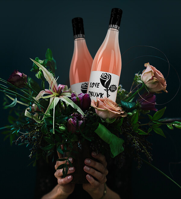 """Grand Bouquet"" for Mouton Noir Wines, image created by  Outshinery"